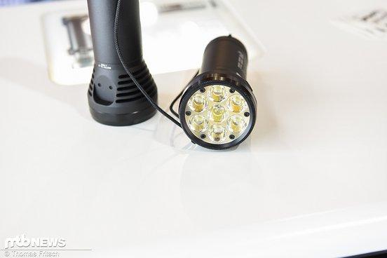 Die leuchtstarke Betty gibt es auch 3 verschiedenen Längen als Taschenlampe