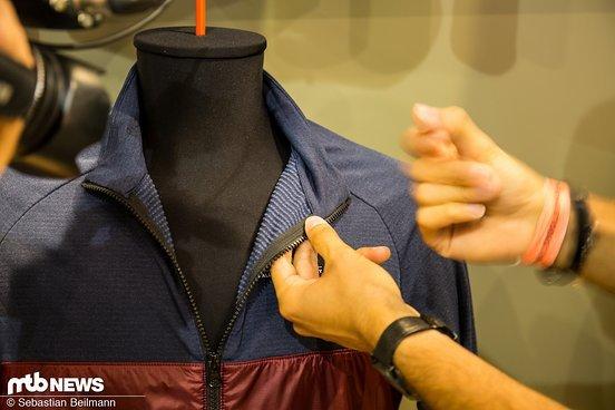 Die Jacke basiert auf einer atmungsaktiven inneren Schicht und einer äußeren Schicht aus Polartec Alpha Direct Material ...