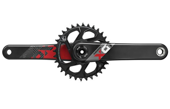 SRAM X01 Eagle DUB Rot