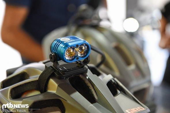 Piko: nachwievor die Helmlampe schlechthin im Programm von Lupine