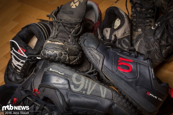 Geschundene Schuhe...