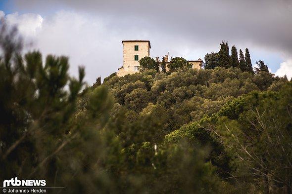 Typischer Toskana-Flair auch im Februar