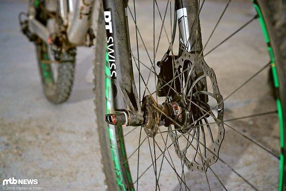 5 verschiedene Laufräder