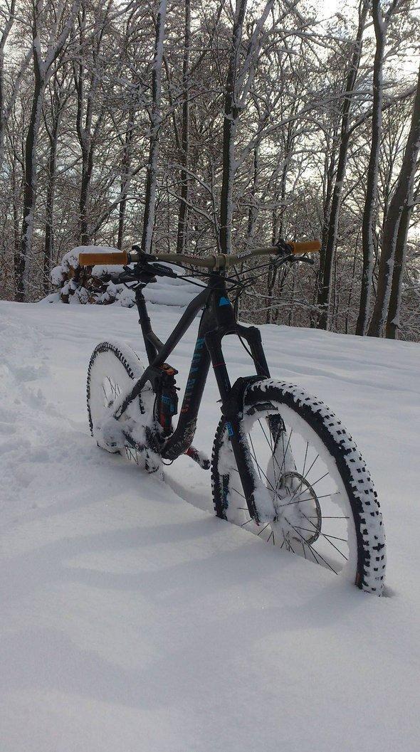...und im Schnee