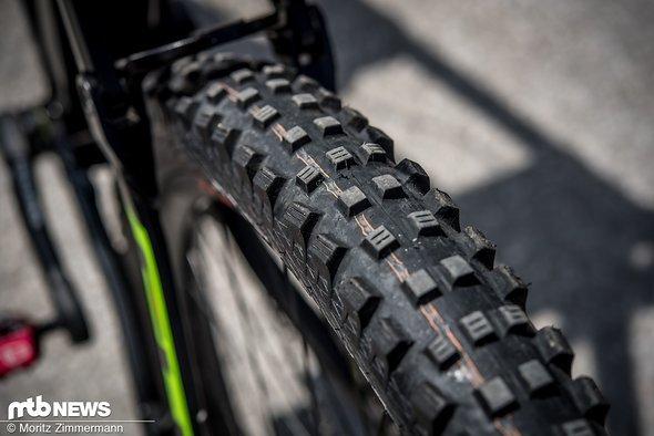 Die am Freitag alles beherrschende Frage: welche Reifen wären wohl die beste Wahl