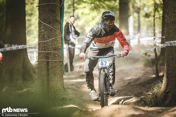 Nils Klasen von Amok Racing (34., Elite Men)