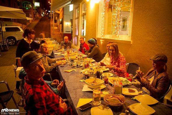 Paella zum Abendessen ...