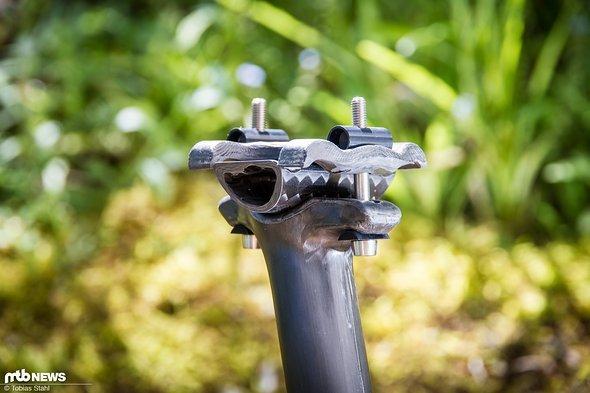 Die 2-Schrauben-Klemmung hat sich bewährt und ermöglicht eine leichte und sichere Montage des Sattels