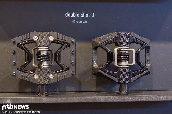 Das Double Shot 3 Pedal ist die günstigere Ausführung...