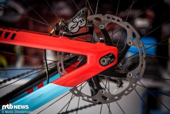 Laurie Greenland bevorzugt sein Rad mit kürzerem Radstand als sein Teamkollegen.