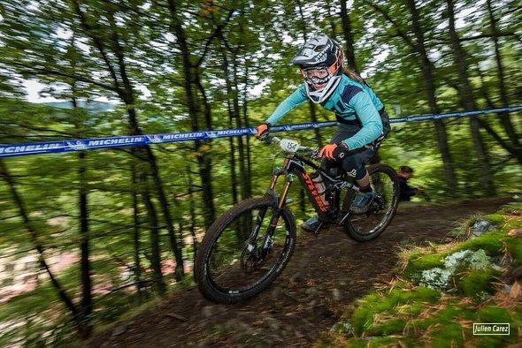 Erfreulich - Veronika Brüchle wird zweite und gewinnt die Gesamtwertung