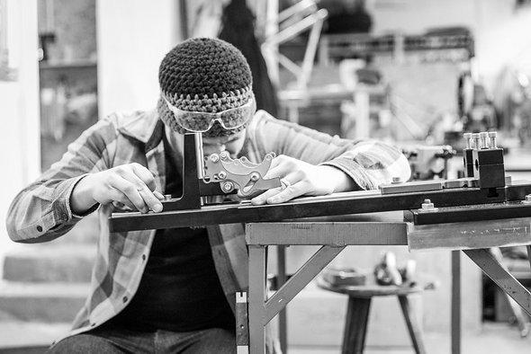 Handarbeit: Alle Portus Cycles entstehen in Handarbeit in Pforzheim