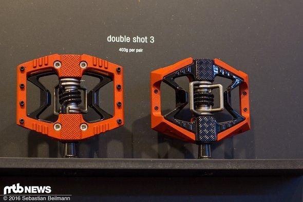 ...der Double Shot-Serie und wiegt knappe 10 g mehr.