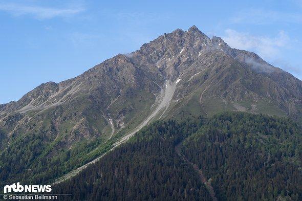... wie das grandiose Alpenpanorama ...