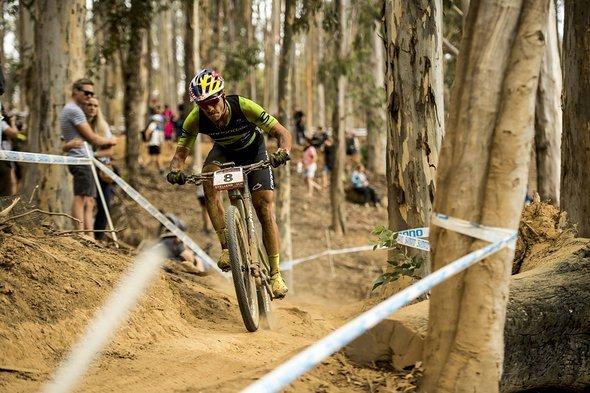 Der Brasilianer Henrique Avancini fuhr ein starkes Rennen: Platz acht für ihn
