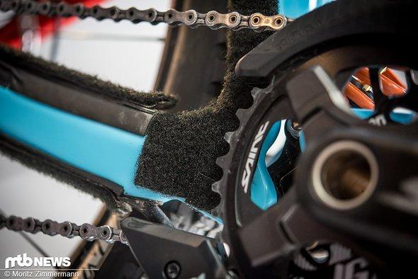Bei MS Mondraker wird viel Aufwand betrieben, um die Bikes lautlos zu machen.