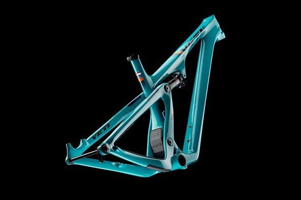 2019 Yeti SB100 Frame Turq Dark 01