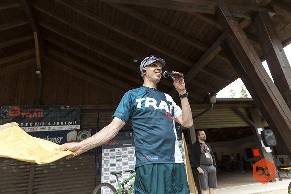 Organisator Thomas Schlecking immer in Action