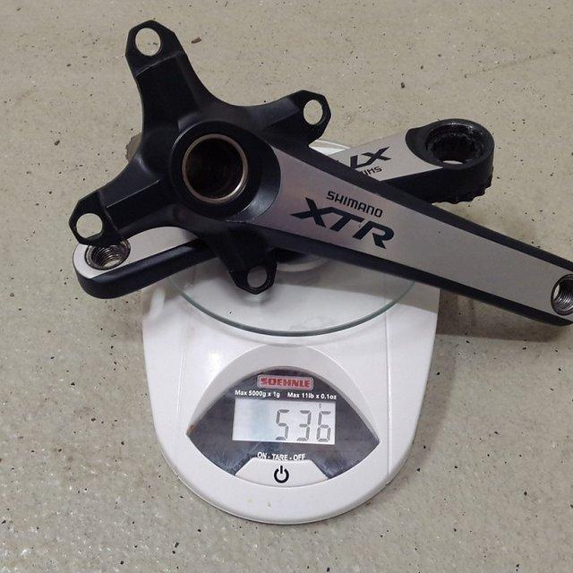 Gewicht Shimano Kurbel XT FC-M785 180mm, 68/73mm, HTII