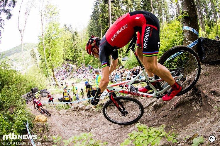 Jaroslav Kulhavy setzte sich auf der Etappe durch und holt sich seinen ersten Tagessieg.