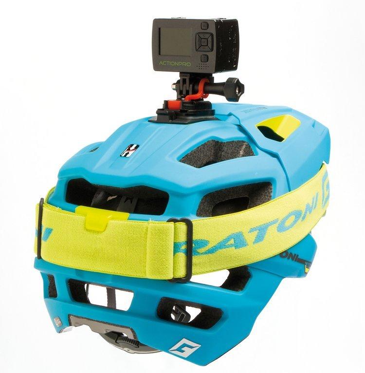 ... und einem praktischen Goggle-Clip