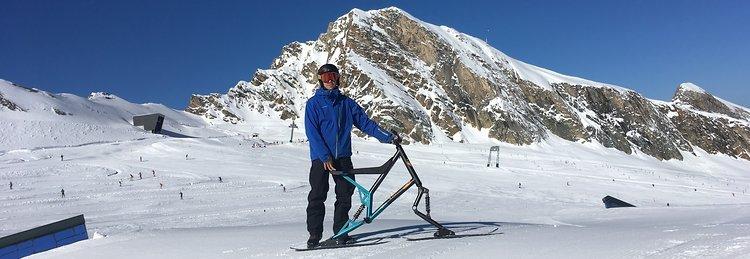 Gregor Schuster mit seinem Sledgehammer