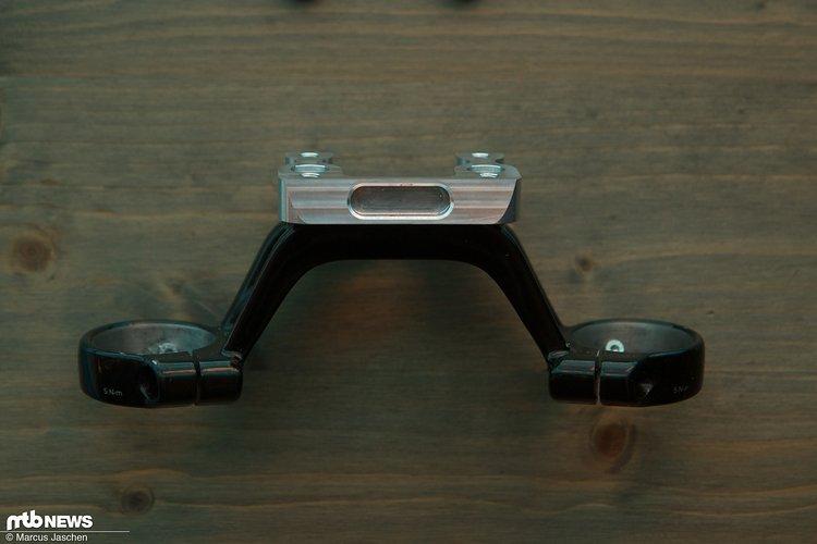 Die Front lässt sich um 20mm erhöhen ohne den Reach zu beeinflussen