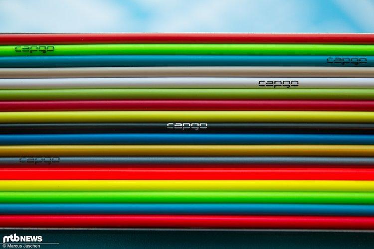 Buntes Fundstück: Capgo Außenhüllen