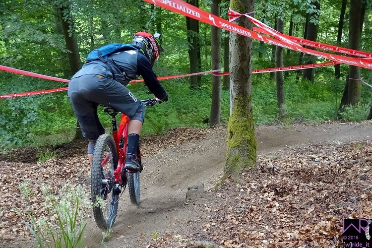 Tobi Reiser Focus Trail Team auf Stage 3