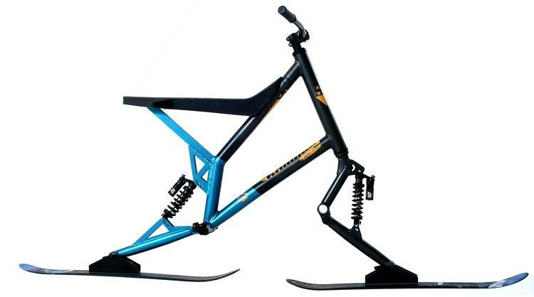 Das neue Sledgehammer Skibike