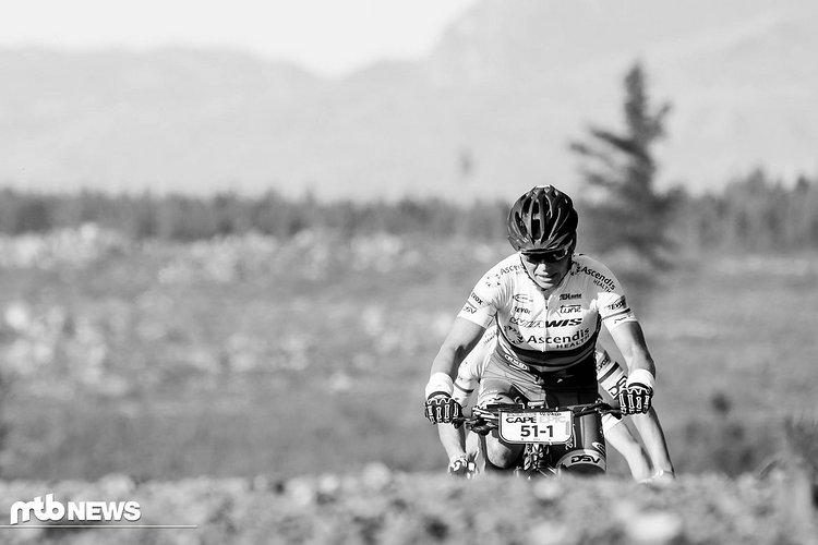Sabine Spitz ist gut in Form: Bei ihrem Saisonauftakt in Südafrika wurde sie lediglich von zwei Defekten gebremst.