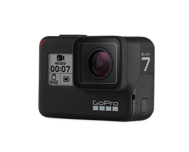 Die neue GoPro Hero 7 Black trumpft mit einer neuen Bildstabilisierung und einer Livestreaming-Funktion auf