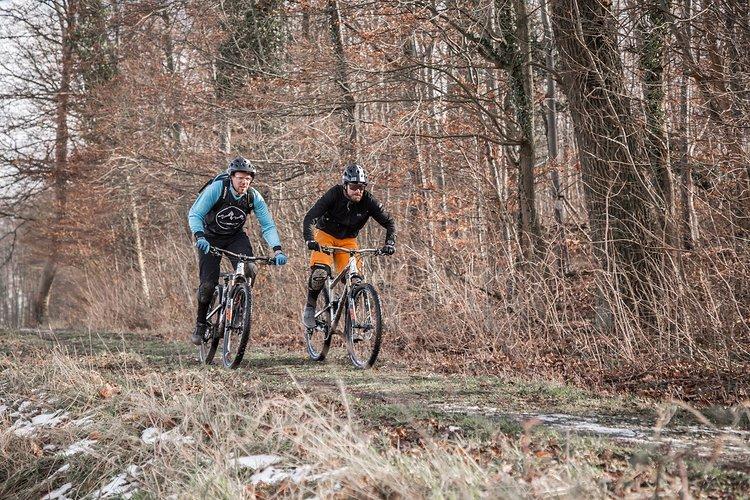Auf den Trails kann man sich direkt selbst ein Bild von den Nicolai-Bikes machen