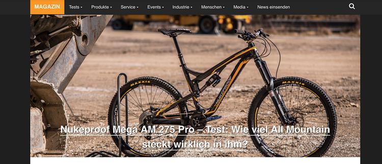 Die neue Startseite von MTB-News.de wird wie gewohnt mit einem großen Slider für die wichtigsten News eröffnet