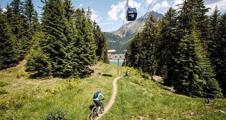 Schöne Trails und schöne Aussicht