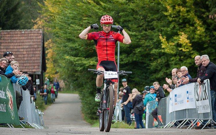 Sieg im letzten großen Rennen seiner Karriere: Moritz Milatz war am heutigen Tag der stärkste.