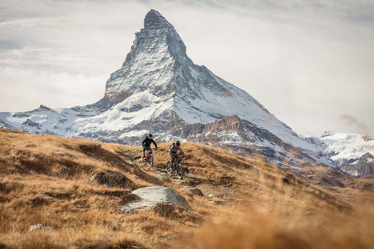 Zermatt beeindruckt nicht nur mit dem Matterhorn sondern auch mit abwechslungsreichen Trails