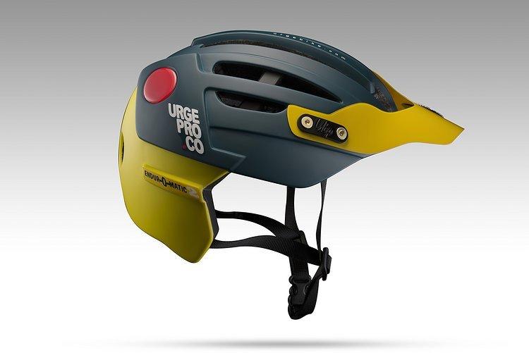 Der Endur-O-Matic 2 ist der Enduro Halbschalen-Helm der Franzosen