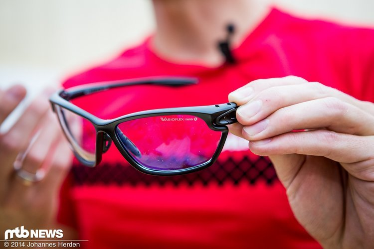 Selbsttönende Filter für die Alpina Eye-5 Bike-Brille