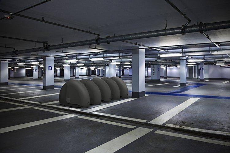 In Parking Garage