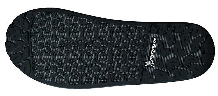 Die spezielle Michelin-Sohle soll für den nötigen Grip der Flatpedal-Schuhe sorgen