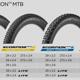 Die vier neuen Modelle der Pirelli Scorpion MTB Reifenfamilie