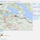 Heute Morgen, 8:30 Uhr. Die ersten 38 km sind absolviert und Chris bewegt sich stetig weiter in Richtung Montreux