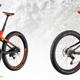 Die neu vorgestellten Bikes von links nach rechts: Scale Plus, Genius Plus, E-Genius Plus und Genius LT Plus