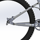 Knolly 12x157mm Crank and Chainring Clearance - DriveSide View