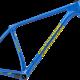 Die Retro-Rahmensets mit Cannondale Ocho-Federgabel sind in blau …